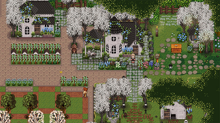Victorian Buildings Mod for Stardew Valley