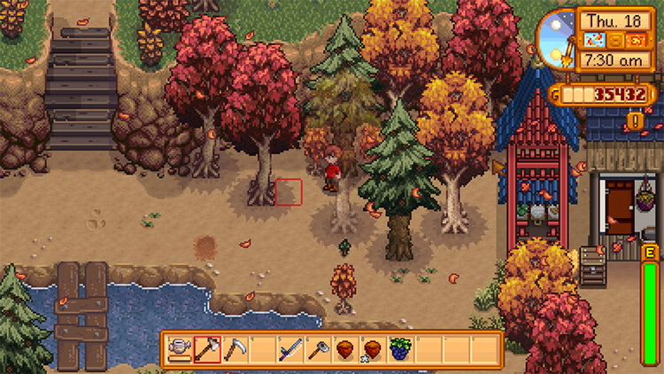 Simple Foliage Mod for Stardew Valley