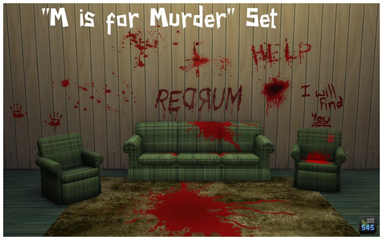 M is for Murder CC Set / TS4
