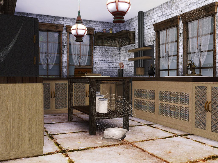 Abandoned House Lot Preview / The Sims 4