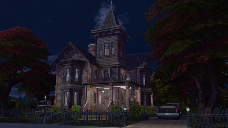 Groves Mansion Lot for The Sims 4