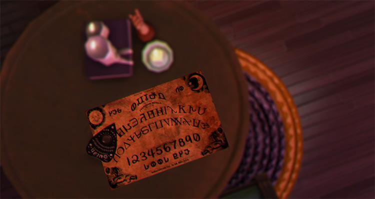 Simlish Ouija Board CC for The Sims 4
