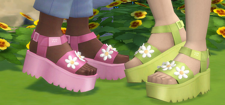 Sims 4 Platform Shoes CC: The Ultimate Collection