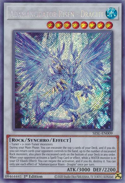 Adamancipator Risen – Dragite Yu-Gi-Oh Card