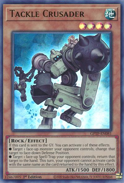 Tackle Crusader Yu-Gi-Oh Card