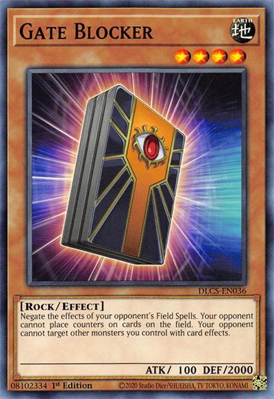 Gate Blocker YGO Card