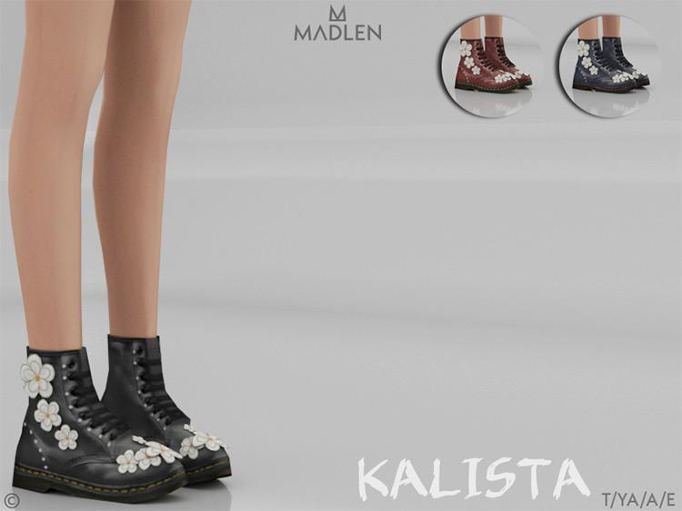 Kalista Boots / Sims 4 CC