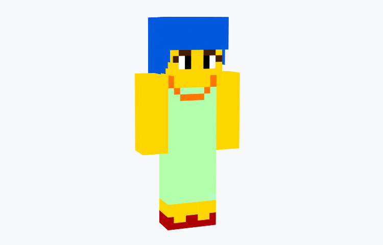 Marge Simpson / Minecraft Skin