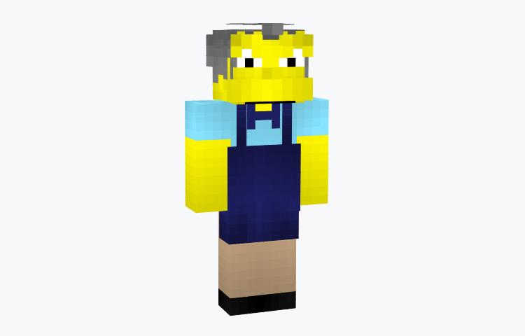 Moe Szyslak Simpsons Minecraft Skin