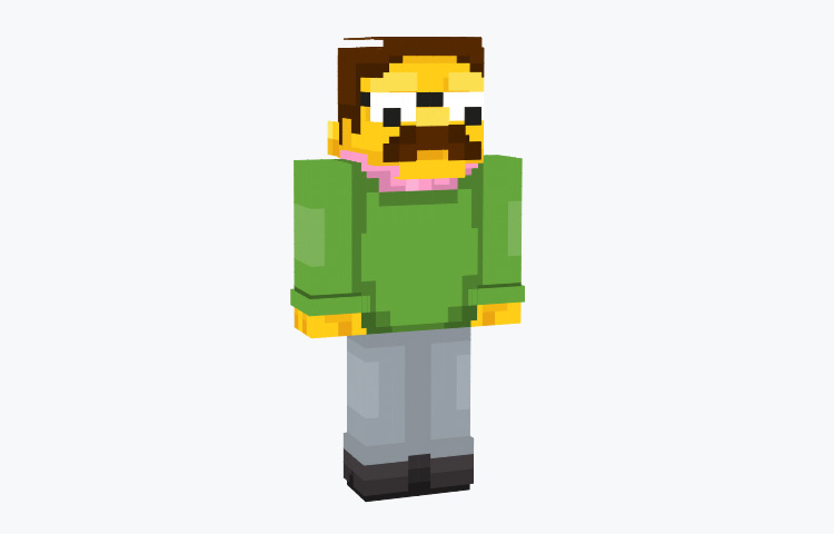Ned Flanders Minecraft Skin