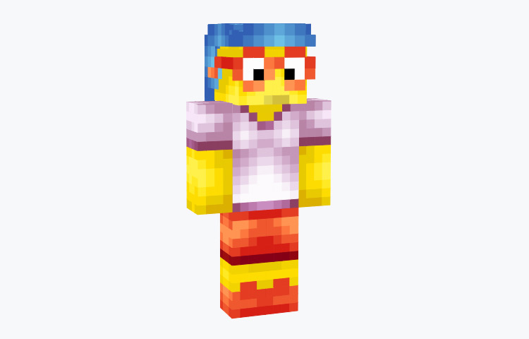 Milhouse from The Simpsons / Minecraft Skin