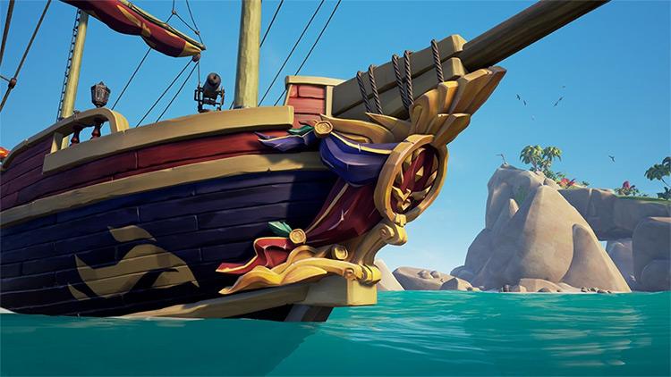 Glorious Sea Dog Figurehead / Sea of Thieves