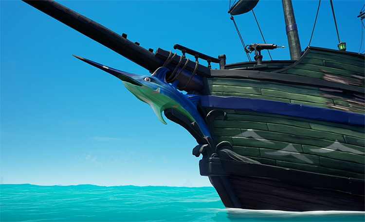 Killer Whale Figurehead / Sea of Thieves