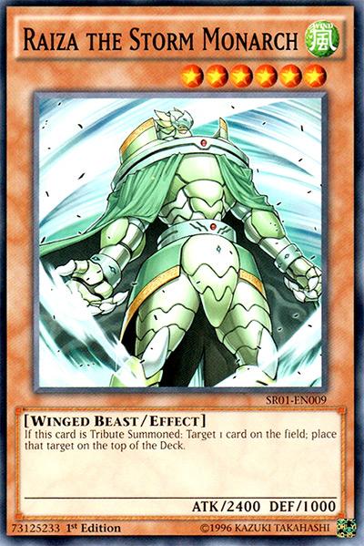 Raiza the Storm Monarch YGO Card