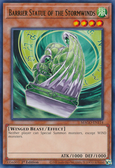 Barrier Statue of the Stormwinds Yu-Gi-Oh Card