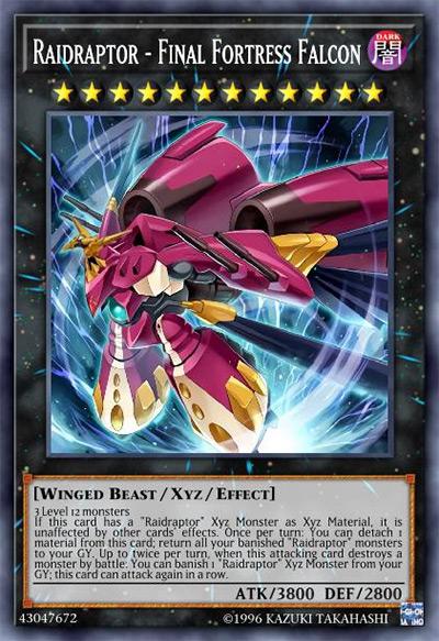 Raidraptor - Final Fortress Falcon Yu-Gi-Oh Card