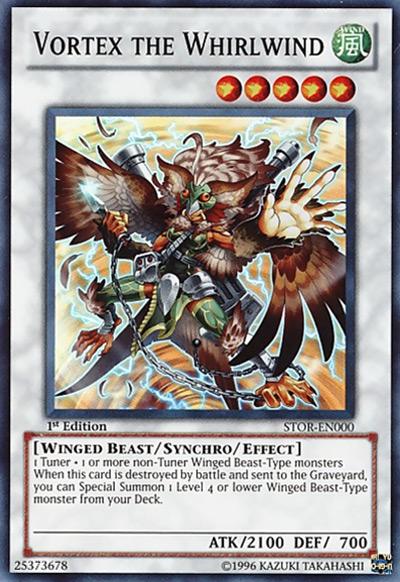 Vortex the Whirlwind Yu-Gi-Oh Card