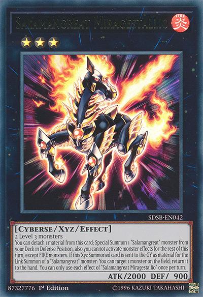 Salamangreat Miragestallio YGO Card