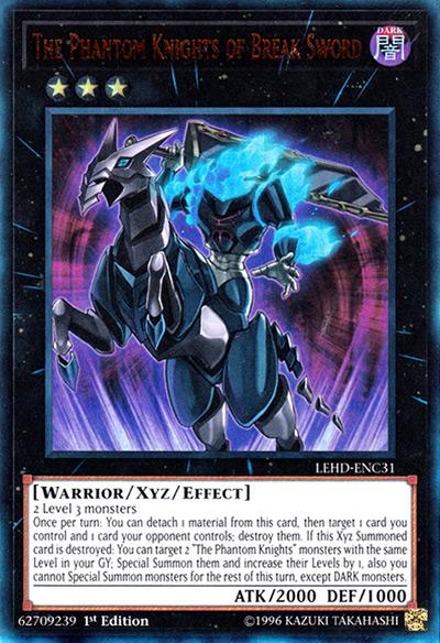 Phantom Knights of Break Sword YGO Card