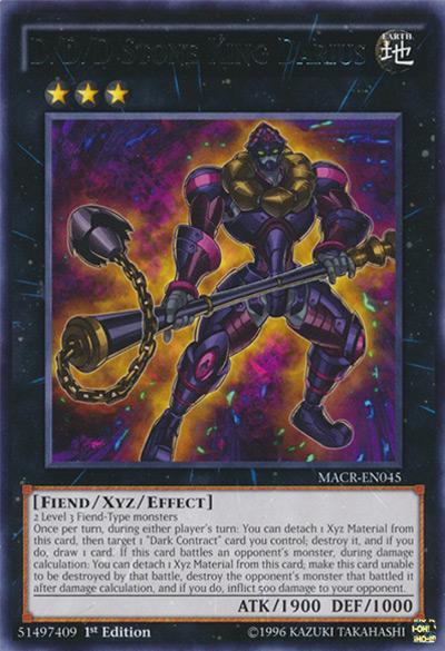 D/D/D Stone King Darius Yu-Gi-Oh Card