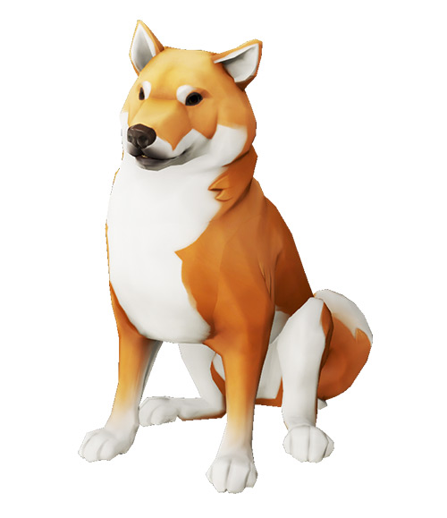 Coral Inu Pet / Sea of Thieves