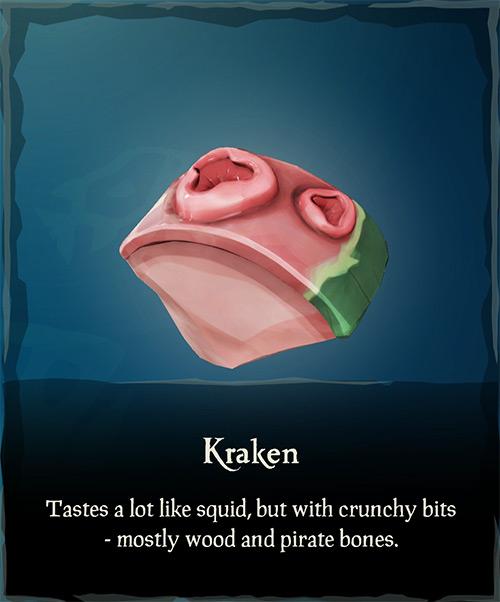 Kraken Meat / Sea of Thieves