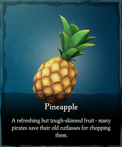 Pineapple Item / Sea of Thieves