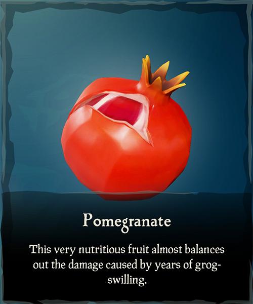 Pomegranate Item / Sea of Thieves