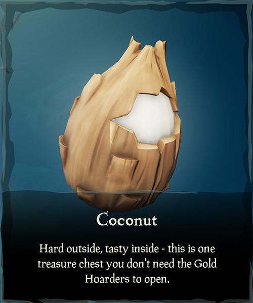Coconut Item / Sea of Thieves