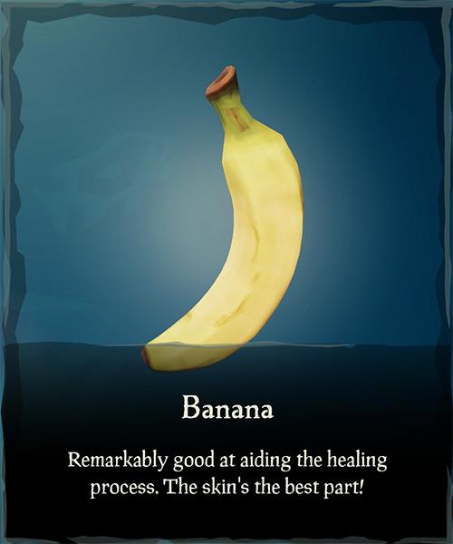 Banana Item / Sea of Thieves