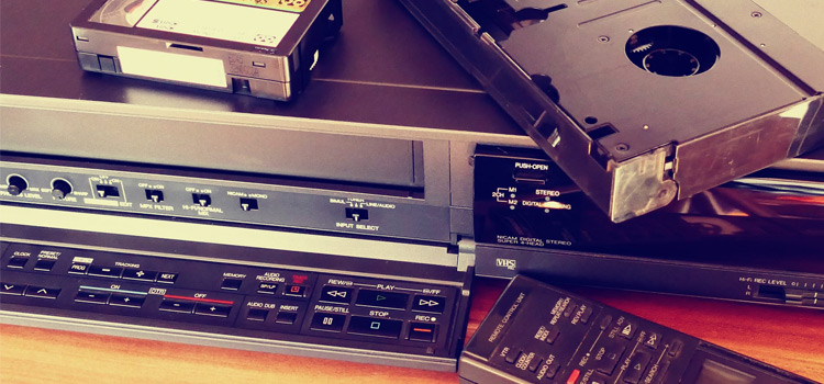 VHS Tape Player Photo