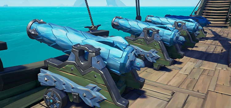 Killer Whale Cannon Skin In-Game Screenshot / Sea Of Thieves