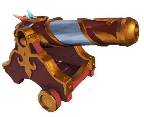 Glorious Sea Dog Cannons Skin / Sea of Thieves