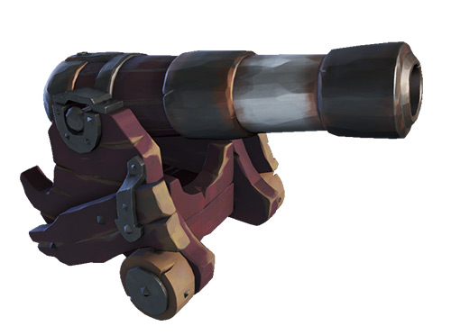 Sea Dog Cannons Skin / Sea of Thieves