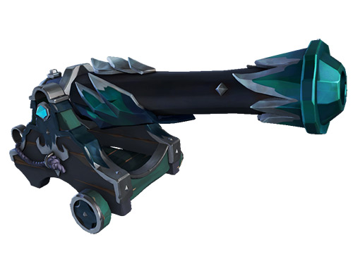 Nightshine Parrot Cannons Skin / Sea of Thieves