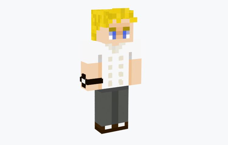 Chef Gordon Ramsey / Minecraft Skin