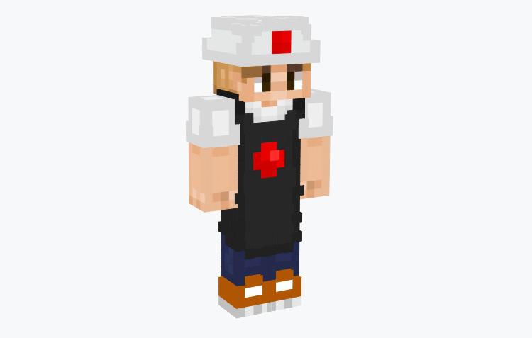 Sushi Chef / Minecraft Skin