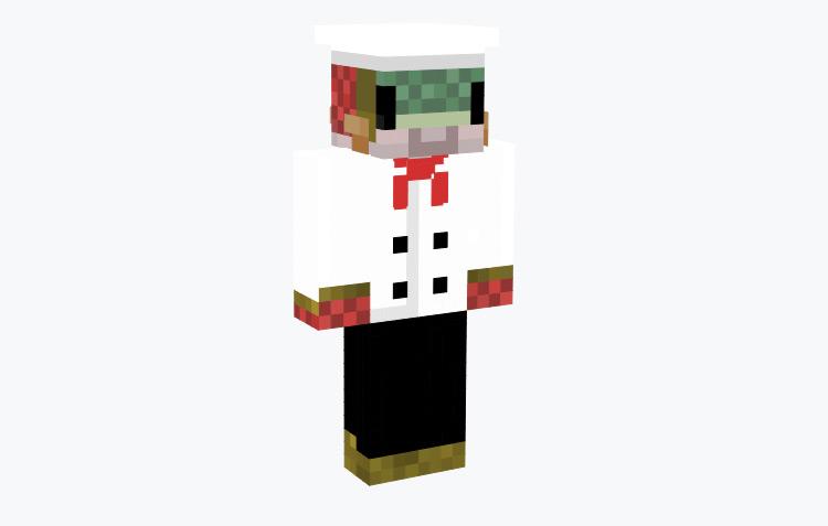 Salmon Chef / Minecraft Skin