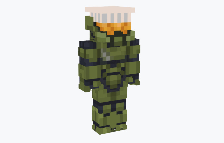 Master Chef (Chief) Halo Crossover / Minecraft Skin