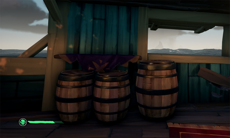 Barrel Emote Preview / Sea of Thieves