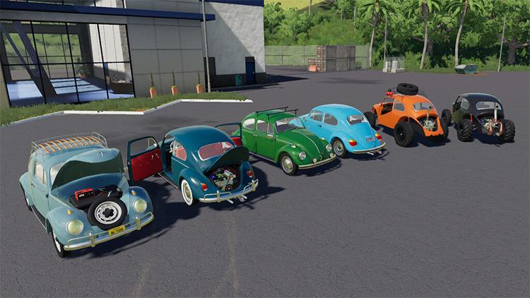 AWM Beetle Car / FS19 Mod
