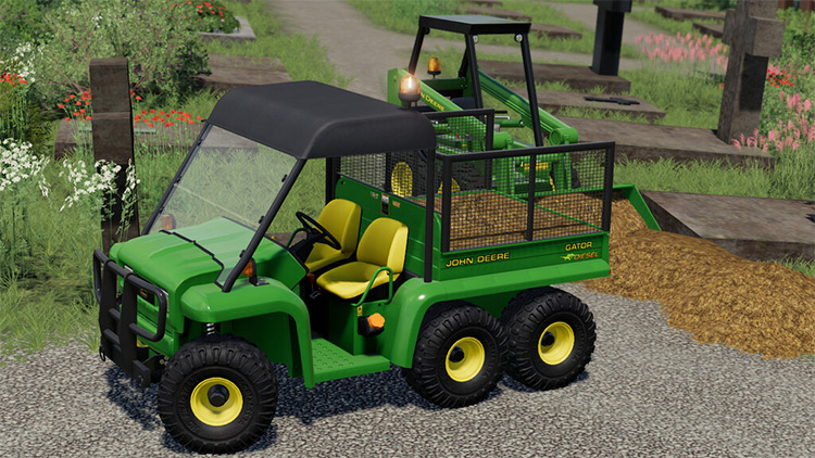 John Deere Gator 6x4 / FS19 Mod