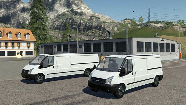 Lizard Rumbler Van / FS19 Mod
