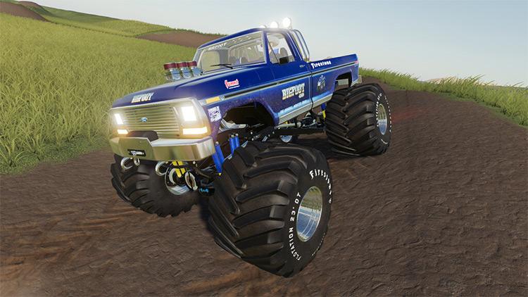Bigfoot 4x4x4 Monster Truck / FS19 Mod