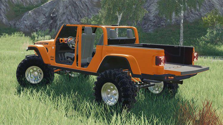 2020 Jeep Gladiator / FS19 Mod