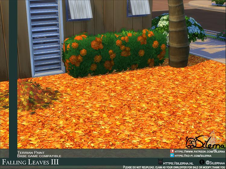 Falling Leaves / Sims 4 CC