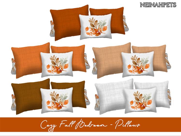 Thanksgiving Autumn Pillows / TS4 CC