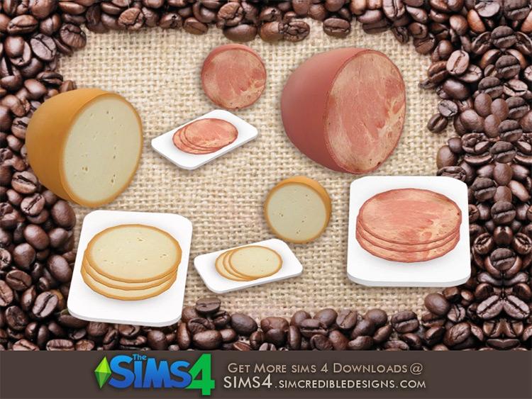 Ham and Cheese / Sims 4 CC