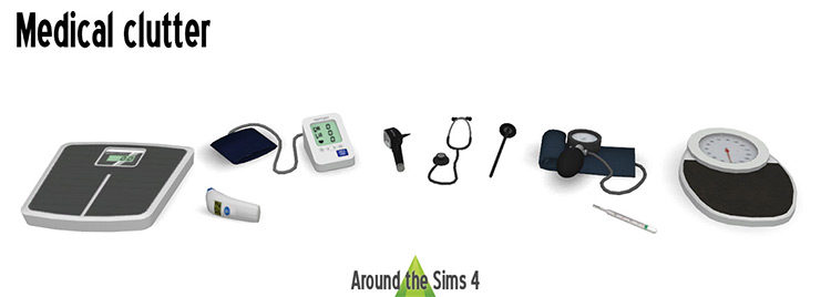 Medical Clutter for The Sims 4