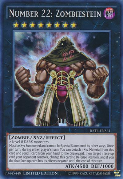 Number 22: Zombiestein Yu-Gi-Oh Card